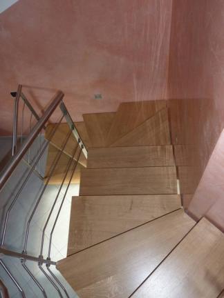 scale in legno interne