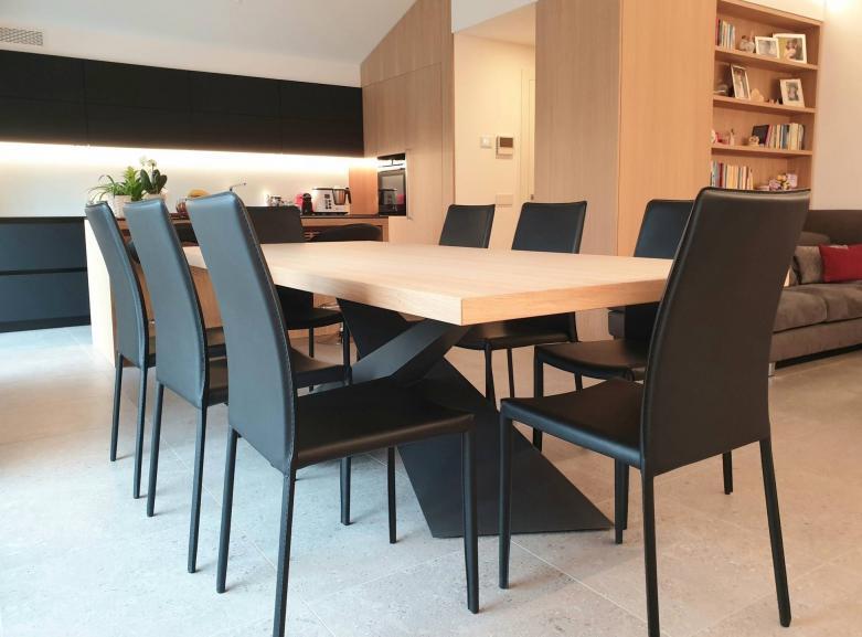 tavolo in rovere - Fusine