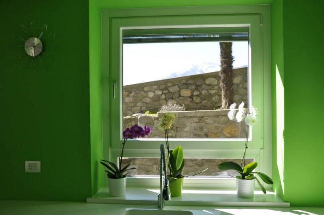 finestra legno/alluminio 90 mm - Berbenno di Valtellina