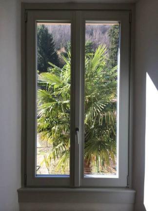 finestra plus 78 mm laccata bicolore - Morbegno