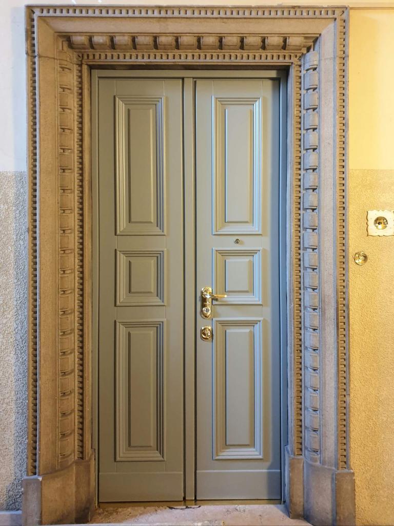 porta blindata su misura - Milano