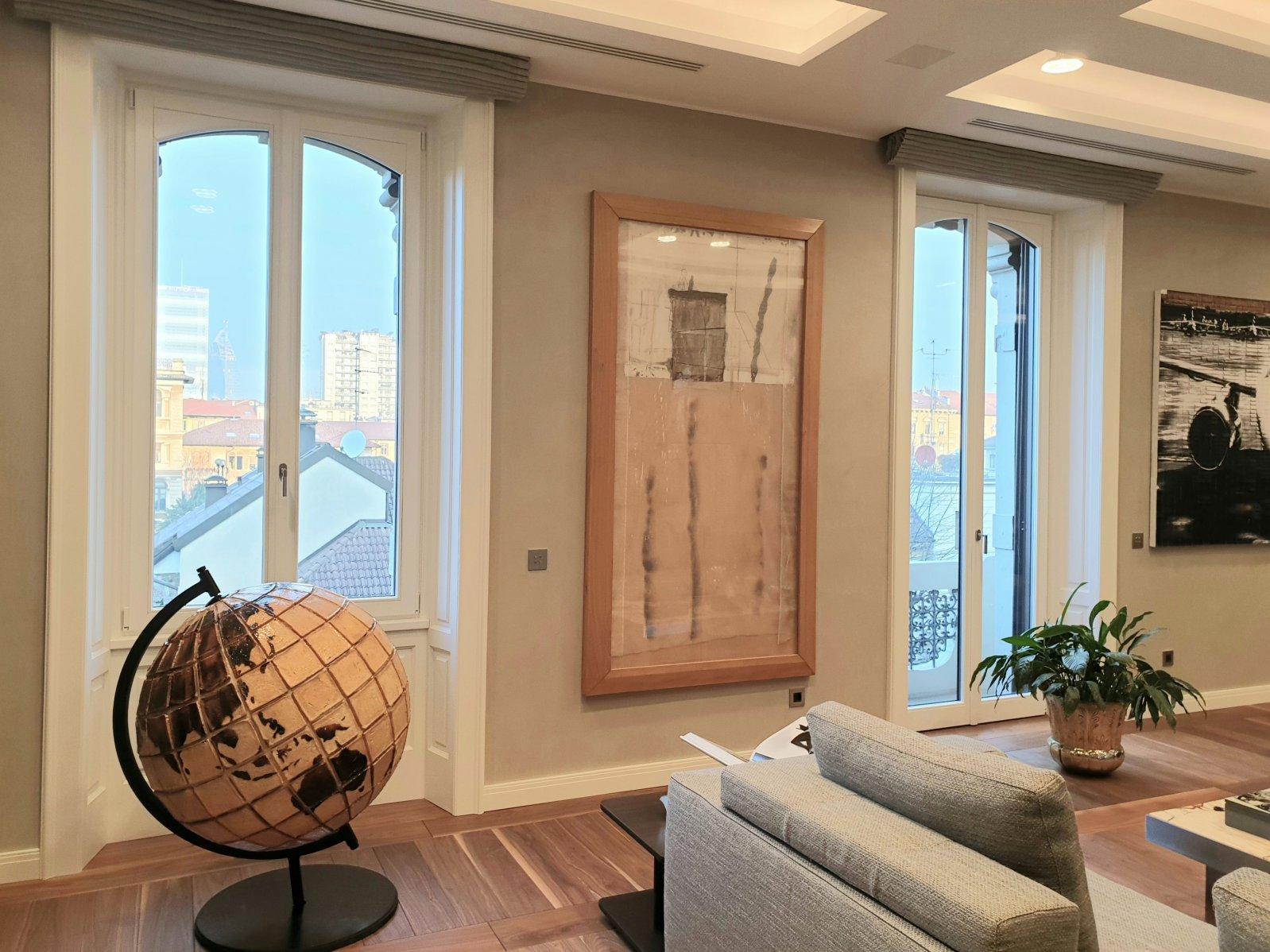 finestre plus 78 modello centro storico e imbotti - Milano