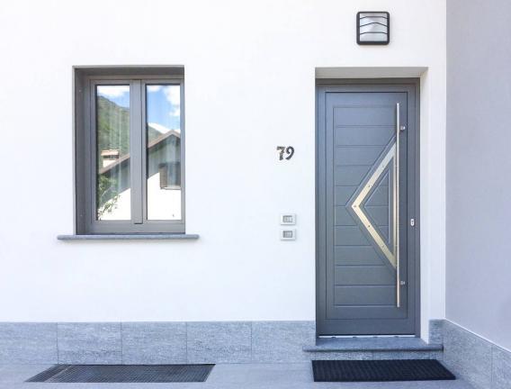 finestre legno/alluminio 100 mm - Tirano