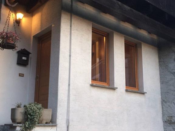 finestre legno/alluminio 90 mm - Berbenno di Valtellina