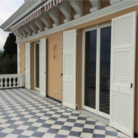 finestre basic 68 mm e persiane - Varazze