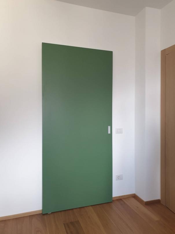 porta scorrevole a muro - Sondrio