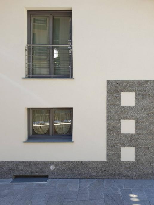 finestre legno / alluminio 100 mm - Caspoggio